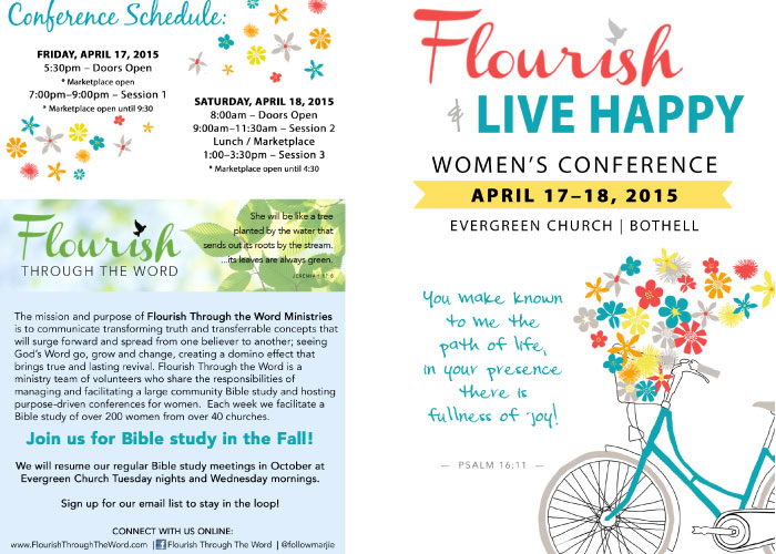 2015 Flourish and Live Happy Program