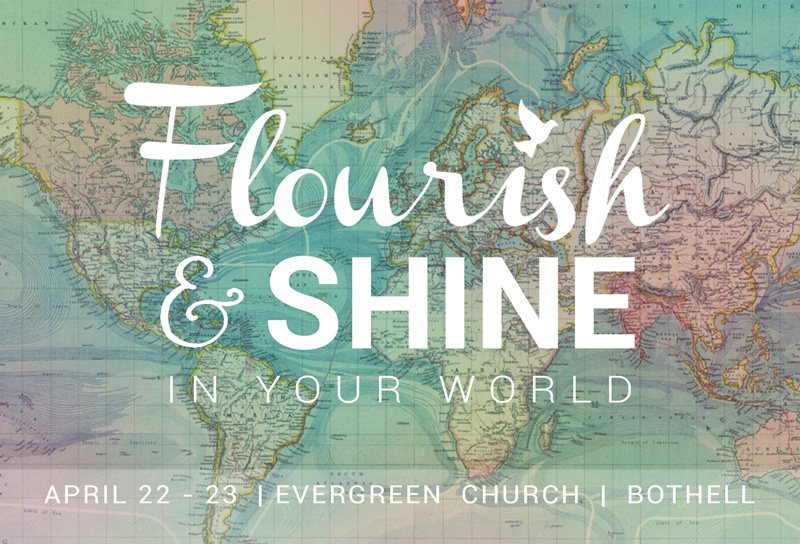 2016 Flourish and Shine Postcard Front